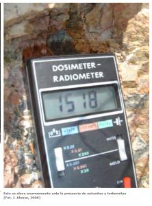 Dosímetro Radiactividad